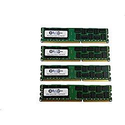 32GB (4x8GB) Memory RAM CMS for Dell PowerEdge T310 QUAD RANK ECC REGISTER by CMS (B26)