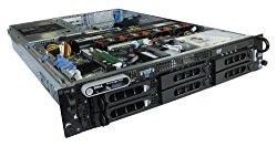 Dell PowerEdge 2950 Gen II 2 Server 2x 3.0GHz Intel 5160 Dual Core Processors, 16GB RAM / Memory (8x 2GB PC2-5300,FB) 2x 146GB 15k SAS 3.5″ HDD Hard Drives 2 Power Supplies Perc 5i RAID Controller DRAC5 DVD-Rom