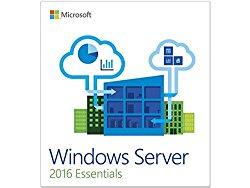 Microsoft Win Svr Essentials 2016 64 Bit English 1 Pack DSP OEI DVD 1-2 CPU Database