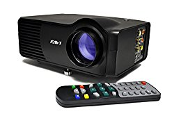 FAVI LED-3 LED LCD (SVGA) Mini Video Projector – US Version (Includes Warranty) – Black (RioHD-LED-3)