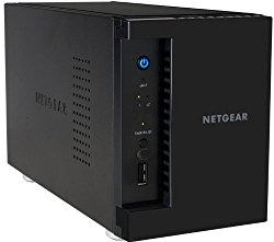 NETGEAR ReadyNAS 312 2-Bay Network Attached Storage for Small Business and Home Users, Diskless (RN31200-100NAS)