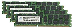 Adamanta 64GB (4x16GB) Server Memory Upgrade for Dell PowerEdge T620 DDR3 1866Mhz PC3-14900 ECC Registered 2Rx4 CL13 1.5v
