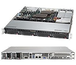 Brand New Supermicro 1U Barebone Superserver 6018R-MTR with Full Warranty