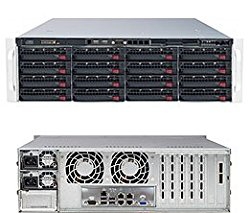 SuperServer 6037R-E1R16N Barebone System – 3U Rack-mountable – Intel C602 Chipset – Socket R LGA-2011 – 2 x Total