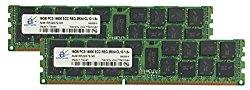 Adamanta 32GB (2x16GB) Server Memory Upgrade for Dell PowerEdge T620 DDR3 1866Mhz PC3-14900 ECC Registered 2Rx4 CL13 1.5v