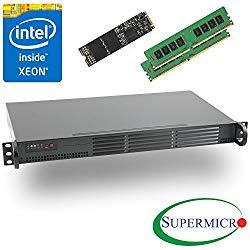 Supermicro Intel Xeon D-1541 8-Core 1U Rackmount 2 x 10GbE, 32GB ECC & 512GB SSD