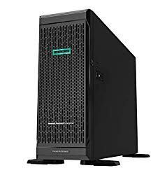 HP ProLiant ML350 G10 Tower Server, Intel Xeon 3106 8 Core, 64GB DDR4, 16TB HDD, RAID, Windows Server 2019 OS, 3 Years Warranty (Renewed)