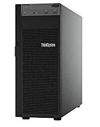 Lenovo ThinkSystem ST250 Tower Server Including Intel Xeon 3.3GHz CPU, 32GB DDR4 2666MHz RAM, 8TB HDD Storage, JBOD RAID