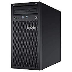Lenovo ThinkSystem ST50 Tower Server Including Intel Xeon 3.4GHz CPU, 32GB DDR4 2666MHz RAM, 6TB HDD Storage, JBOD RAID