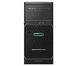 HP ProLiant ML30 Gen10 Tower Server Bundle with Intel Xeon E-2124, 16GB DDR4, 4TB SATA, RAID, and 16GB USB Drive