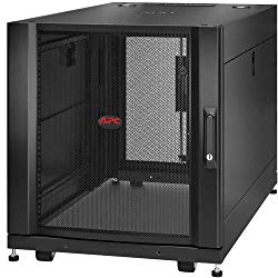 APC by Schneider Electric NetShelter SX 12U Server Rack Enclosure 600mm x 1070mm w/Sides Black – F