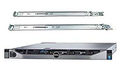 Dell PowerEdge R630 Server Bundle with Rail Kit, 2 Intel Xeon E5-2697 V3 14-Core 2.6GHz CPU, 512GB DDR4 RAM, 7.68TB SSD, RAID (Renewed)