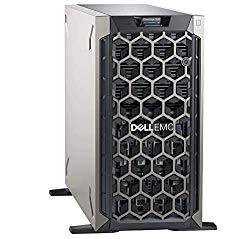 Dell PowerEdge T340 Tower Server for Business, Windows 2016 STD OS, Intel Xeon E-2124 Quad-Core 3.3GHz 8MB, 32GB DDR4 RAM, 12TB Storage, RAID, Single PSU