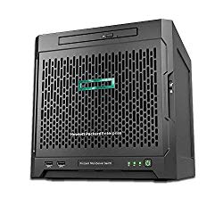 HP Enterprise MicroServer Gen10 For Small Business, AMD Opteron X3421 Up To 3.4GHz, 8GB RAM, No HDD's Included, P04923-S01 (Renewed)