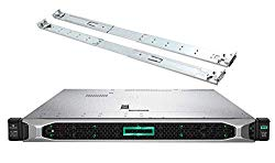 HP ProLiant DL360 Gen 10 Business Server Bundle with 2 x Intel Silver 4210 10 Core CPUs, 256GB RAM, 7.68TB SSDs, RAID, Rail Kit