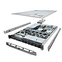 TechMikeNY High-End PowerEdge R420 Server 2X 2.40Ghz E5-2440 6C 96GB 8X 512GB SSD (Renewed)